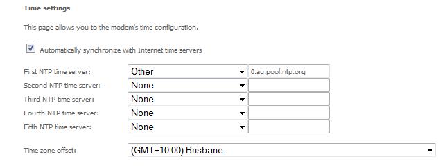 NetComm time