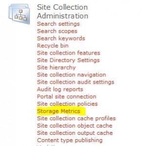 StorageMetrics