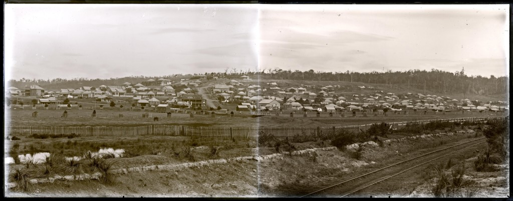 New Lambton Panorama. Photo by Ralph Snowball. University of Newcastle Cultural Collections.