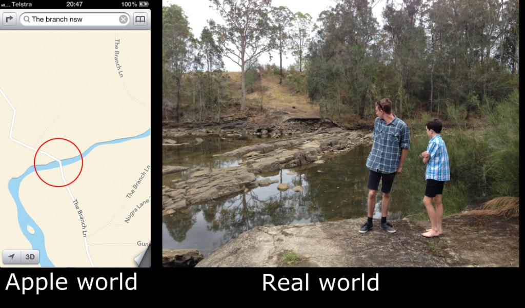 Apple World, Real World