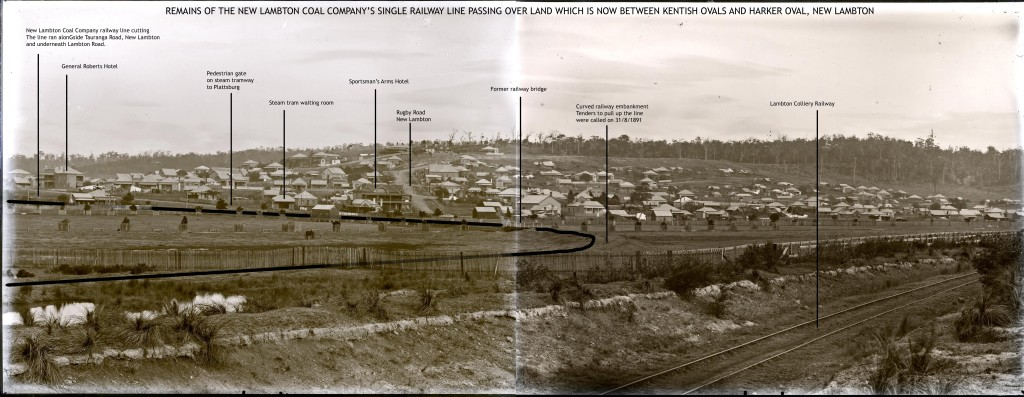 Panorama annotated by Robert Watson. Used with permission.
