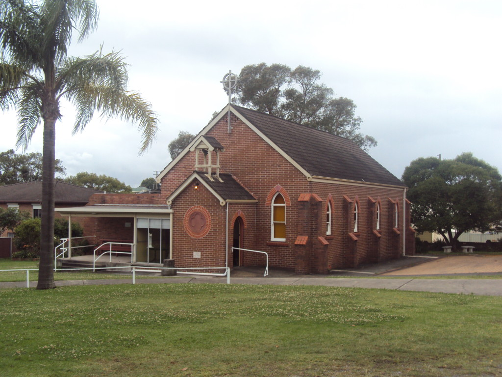 St John the Baptist Anglican Church, 18 Morehead St Lambton NSW in 2015.