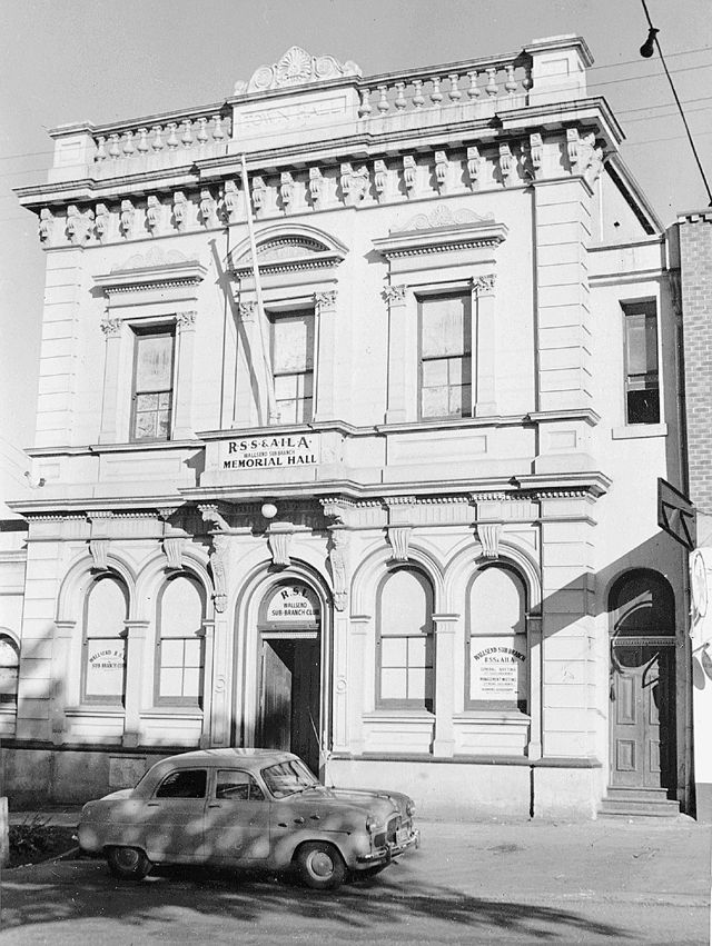 Wallsend Council Chambers (1930 to 1937)