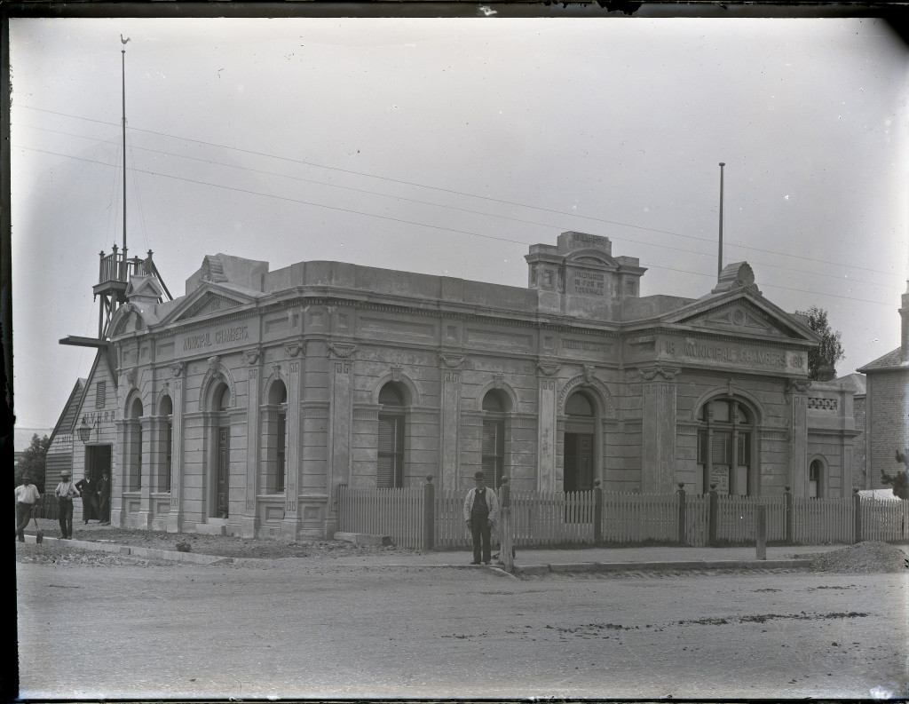 Hamilton Council Chambers. University of Newcastle, Cultural Collections.