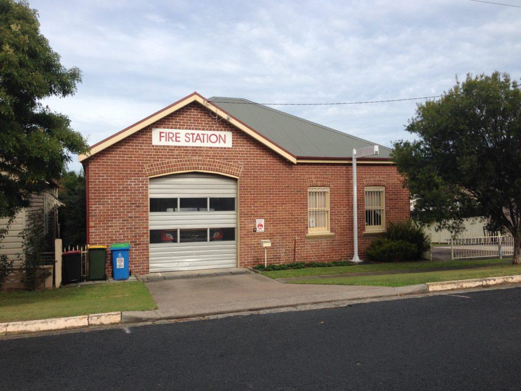 Lambton Fire Station, De Vitre Street, 2016