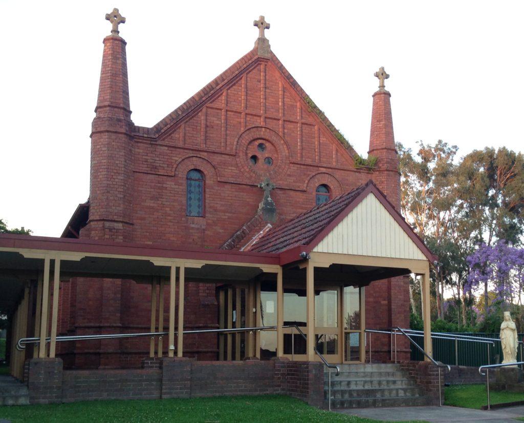 St John the Evangelist Catholic Church, Dickson St Lambton, 2016