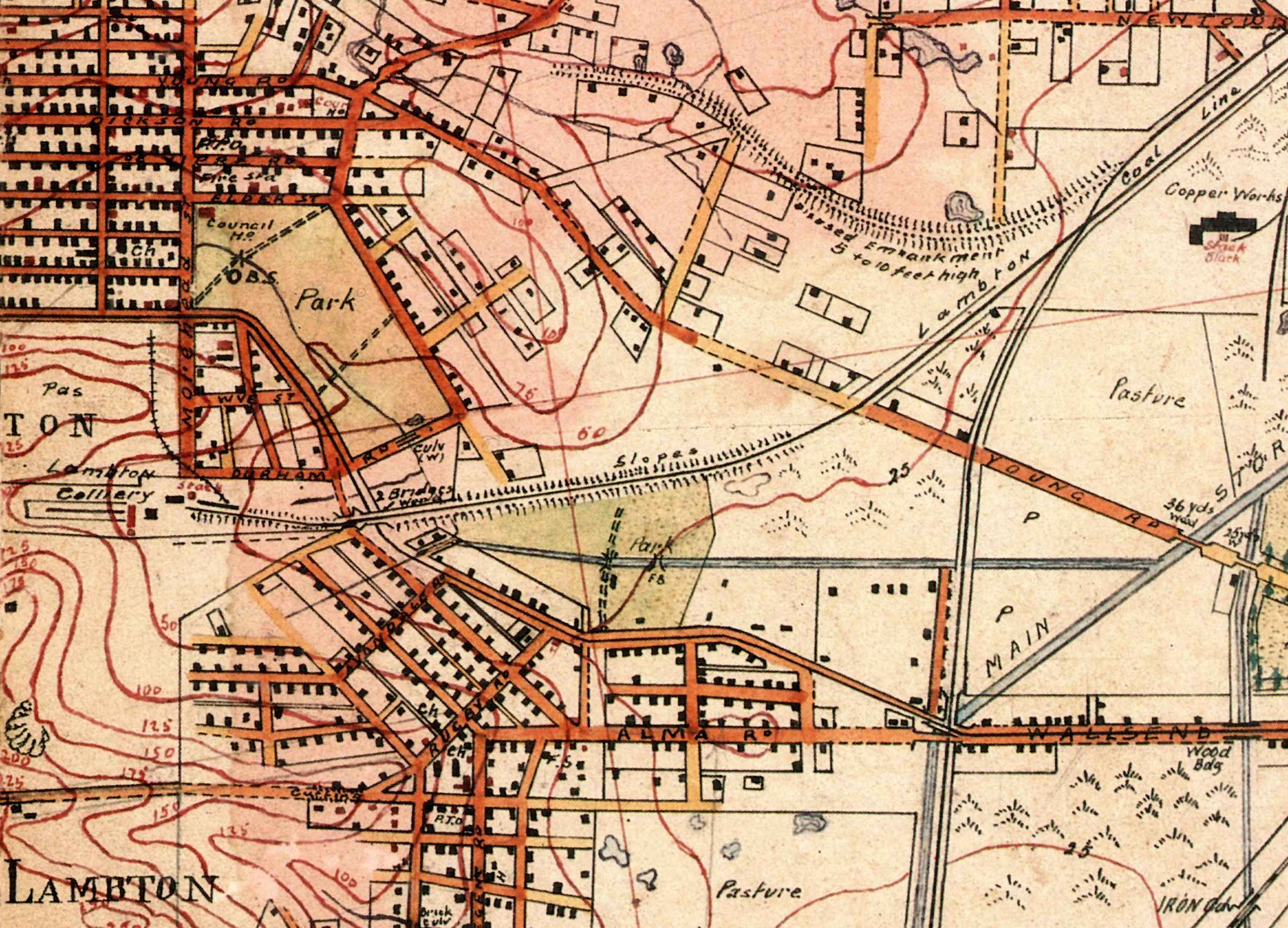 Barretts 1910 Map A bit of this a bit of that